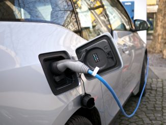 Electric vehicle charging stations will soon allow power to return to the grid with vehicle-to-grid technology.