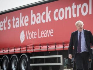 Boris Johnson campaigned that Brexit would 'take back control'.